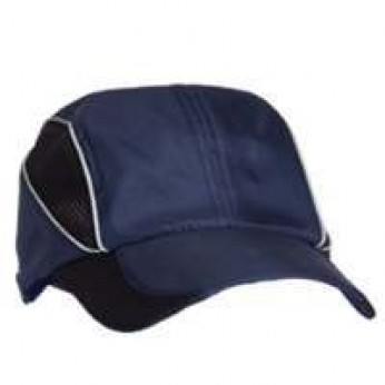 Microfiber Performance Cap with Reflective Piping