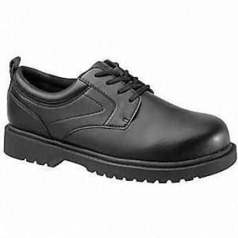 Grabber's Men's Steel Toe Black Oxford