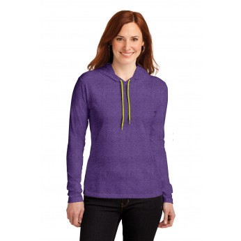 Heather Purple / Neon Yellow