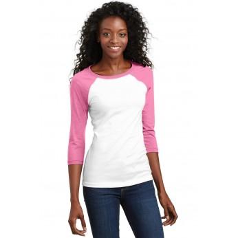 True Pink / White