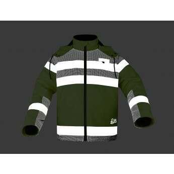 Night Glow Sherpa Lined Heavy Weight Jacket