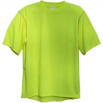 Hi-Vis Lime Premium Short Sleeve T-Shirt