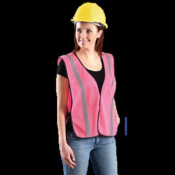Non ANSI Pink Reflective Vest