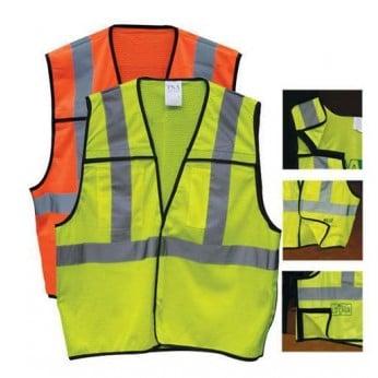 ANSI 2 5-PT Breakaway Safety Vest